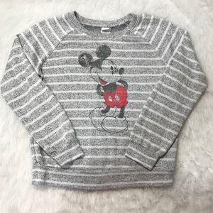 Disney Knit Top Mickey Size Large